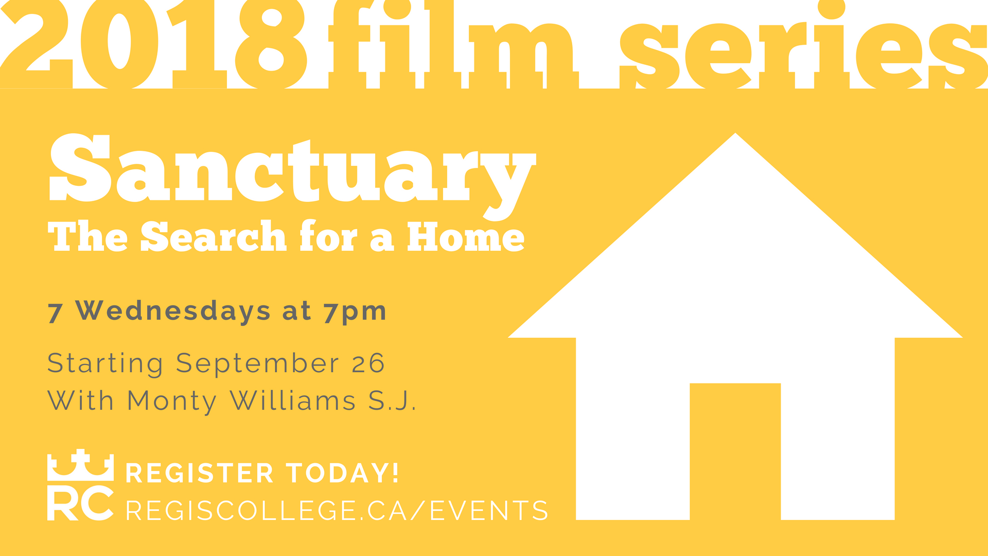 Regis College Fall 2018 Film Series - Sanctuary: The Search for a Home