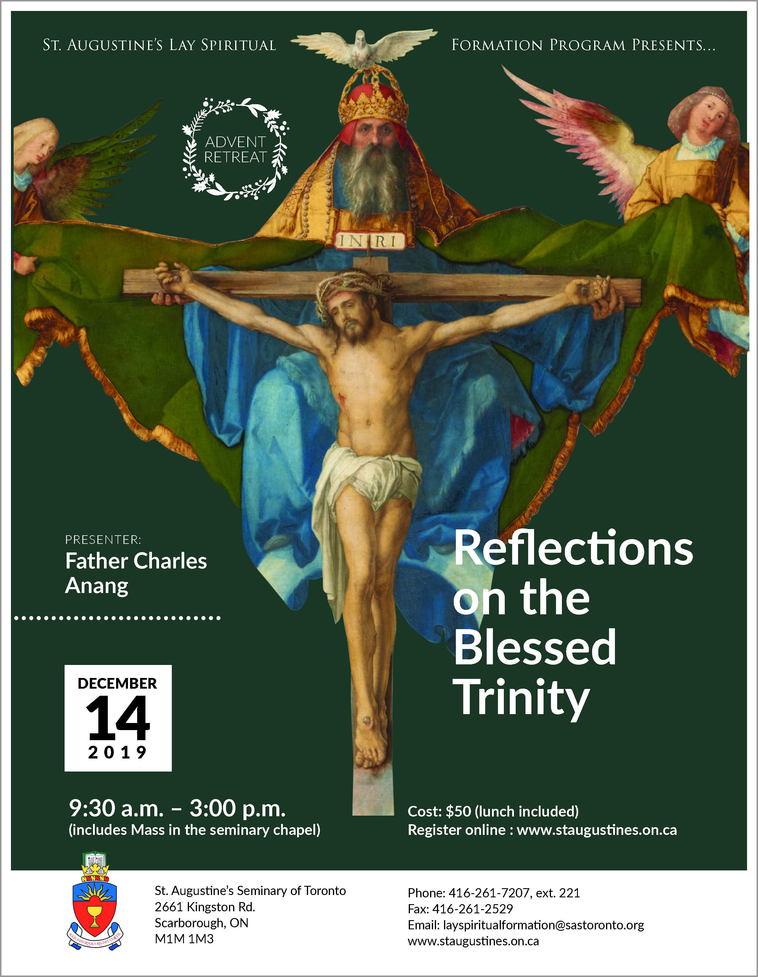 Advent Retreat: Reflections on the Blessed Trinity