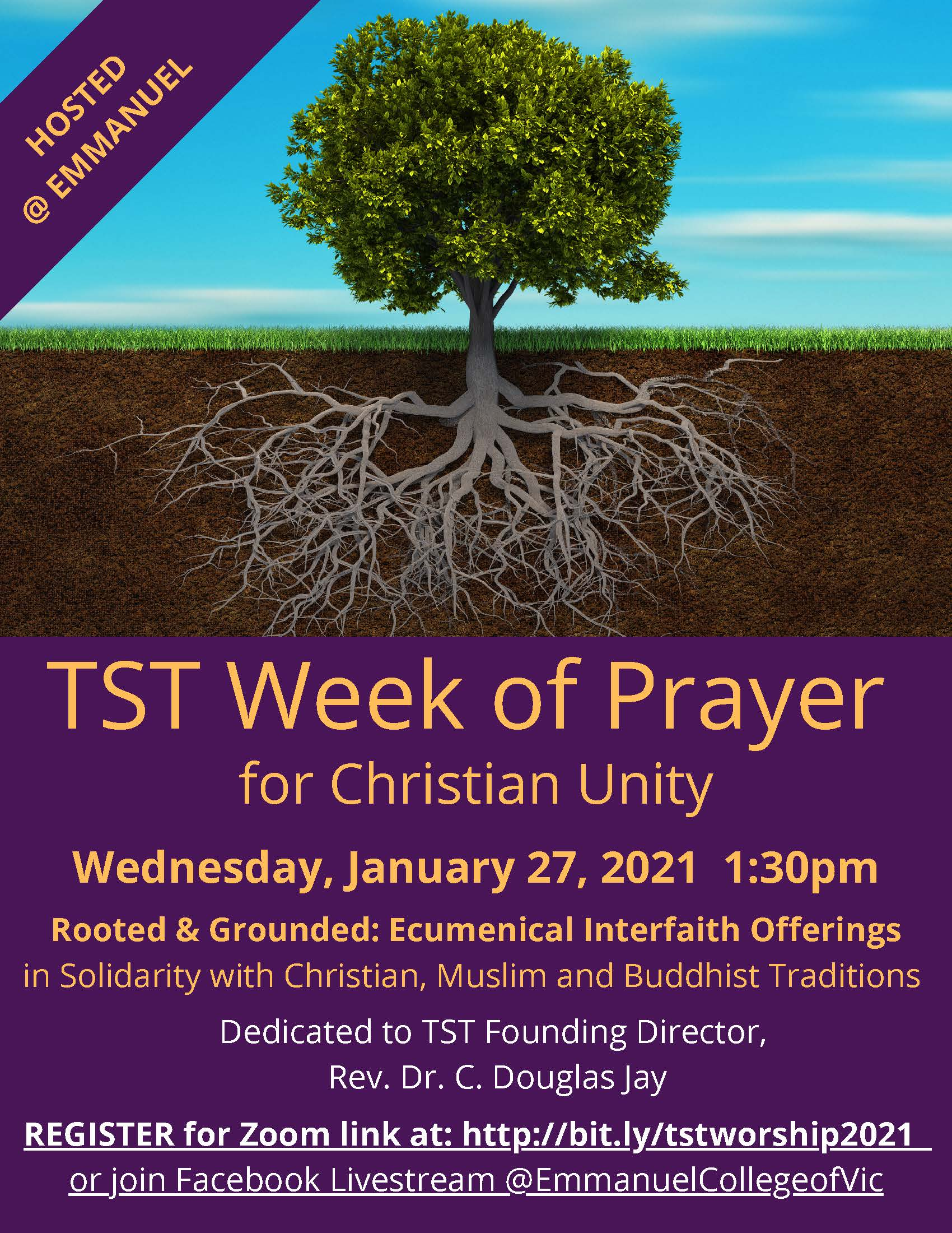 TST-Wide Ecumenical Service during the Week of Prayer, January 27