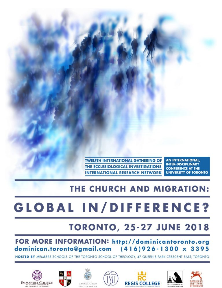 Conference - The Church and Migration: Global In/Difference?