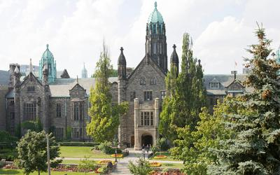 Trinity College building exterior view
