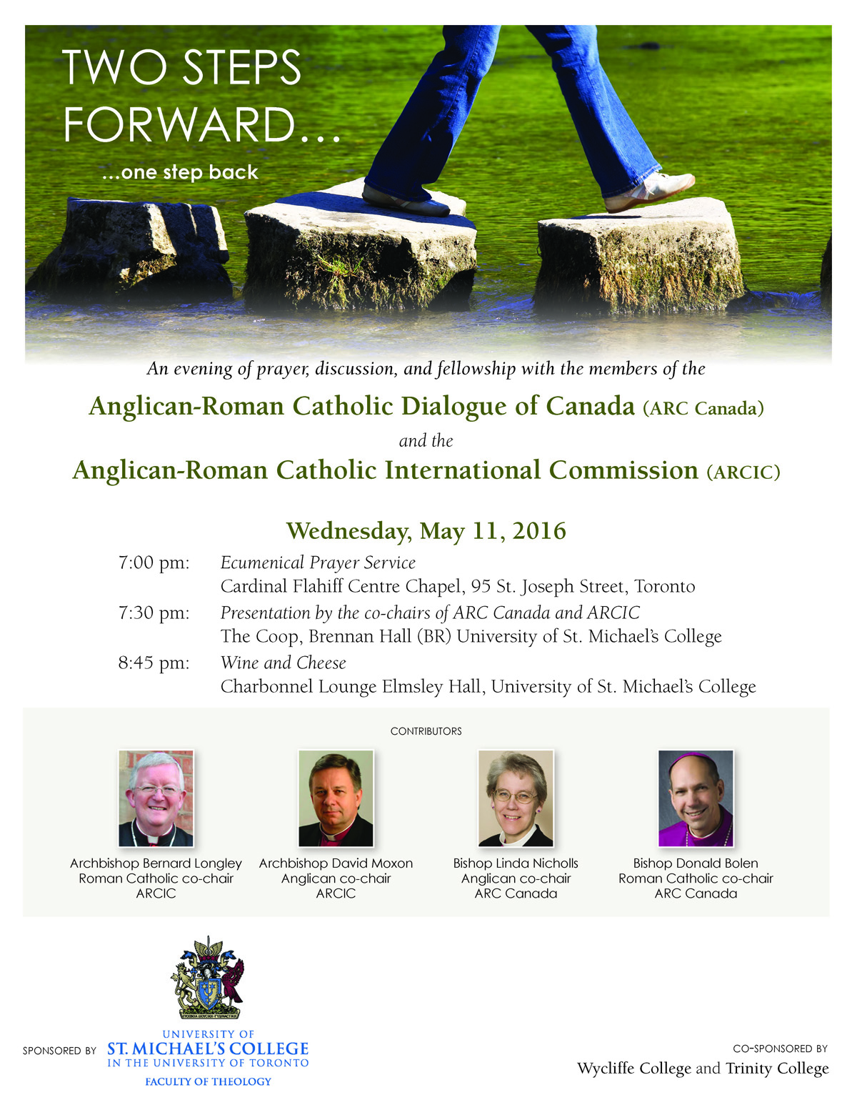 Anglican-Roman Catholic Dialogue Event May 11, 2016