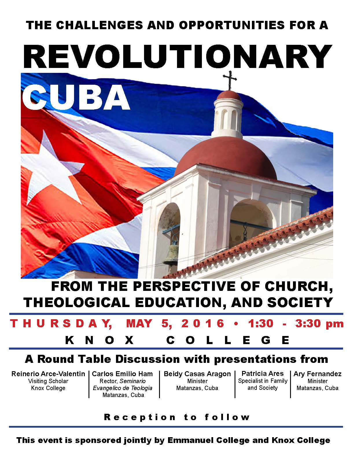 The Challenges and Opportunities for a Revolutionary Cuba roundtable discussion