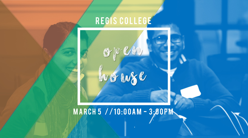 Regis College Spring Open House, March 5