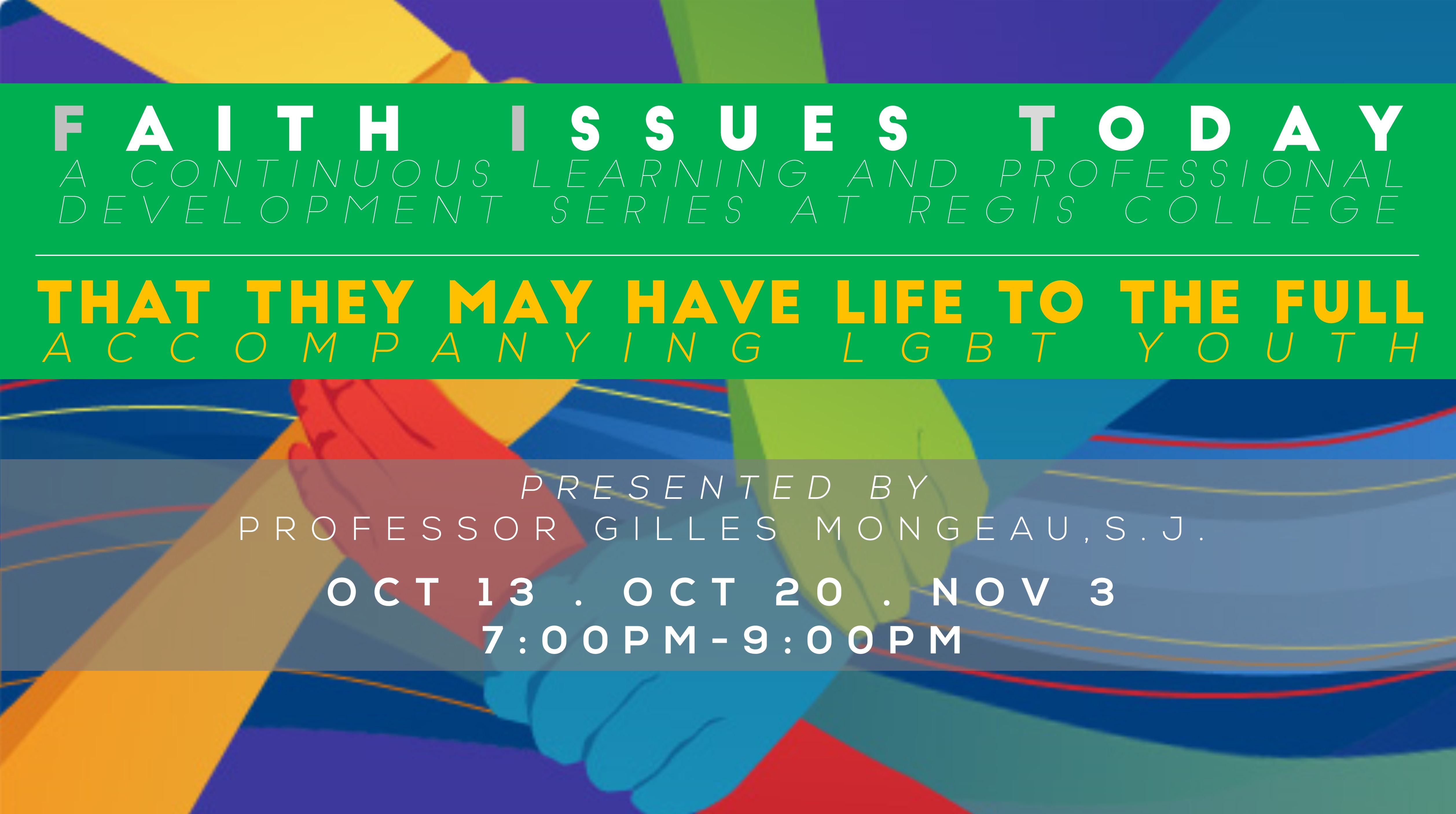 Faith Issues Today Series - LGBT Youth