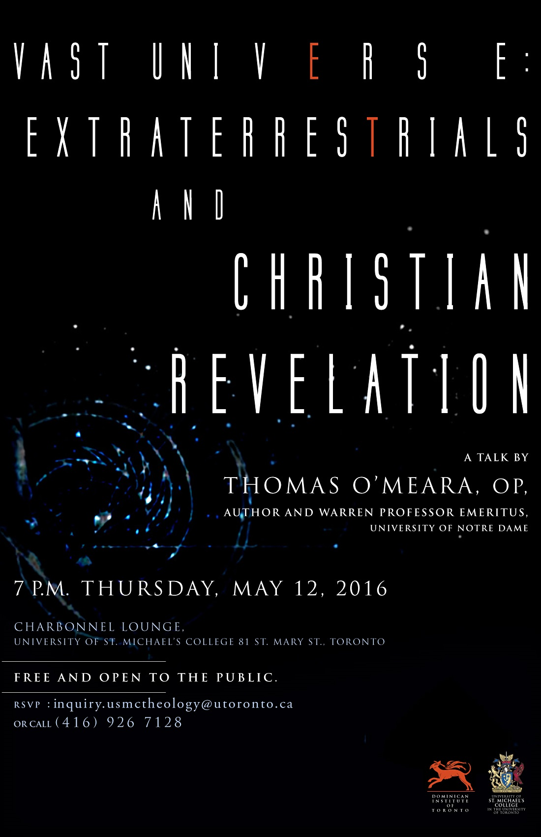 Vast Universe: Extraterrestrials and Christian Revelation, Lecture May 12