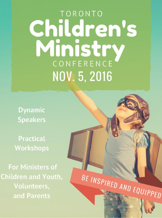 Wycliffe College Toronto Children's Ministry Conference