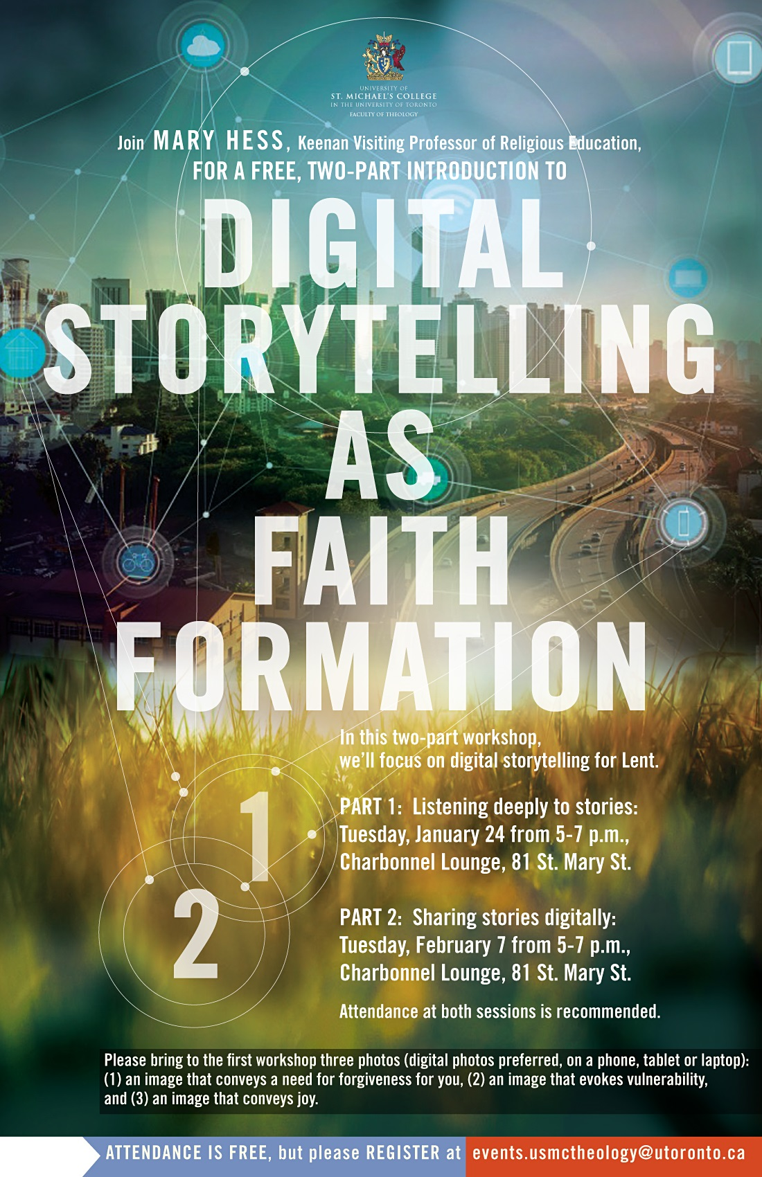 Digital Storytelling as Faith Formation Poster