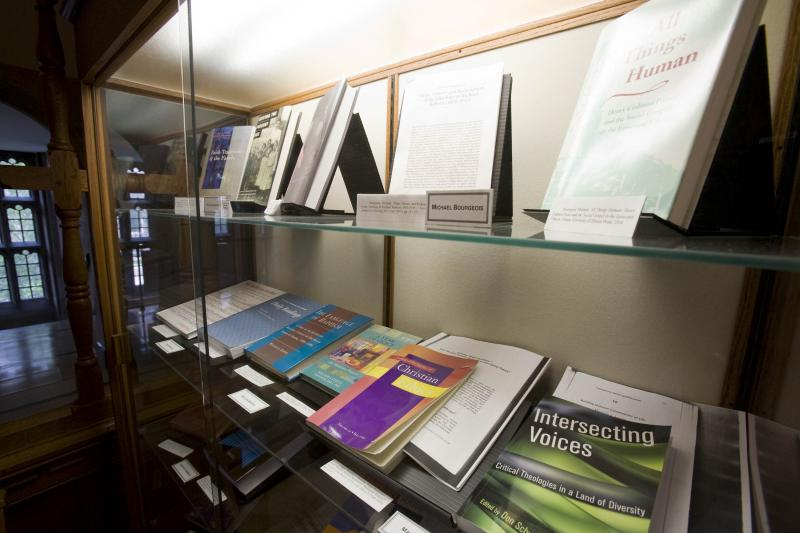 Display of Literature at Emmanuel College